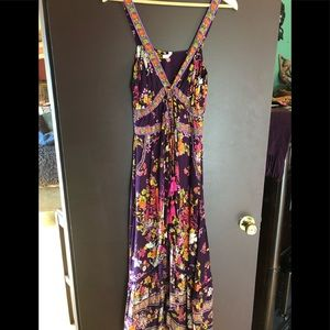 Tulle & batiste beautiful floral dress size small